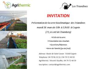 Invitation les triandines